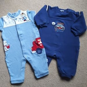 Other - 9mo Boys Rompers/PJ's Snap-Up